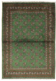 Afghan Matta 105X150 Äkta Orientalisk Handknuten Svart/Mörkgrön (Ull, Afghanistan)