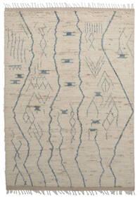 Moroccan Berber - Afghanistan Matta 179X255 Äkta Modern Handknuten Ljusbrun/Ljusgrå (Ull, Afghanistan)