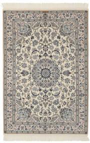 Nain 9La Matta 110X163 Äkta Orientalisk Handknuten Mörkgrå/Svart (Ull/Silke, Persien/Iran)