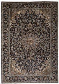 Najafabad Matta 263X387 Äkta Orientalisk Handknuten Svart/Mörkbrun Stor (Ull, Persien/Iran)