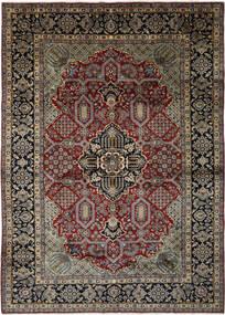 Najafabad Matta 293X408 Äkta Orientalisk Handknuten Svart/Mörkbrun Stor (Ull, Persien/Iran)
