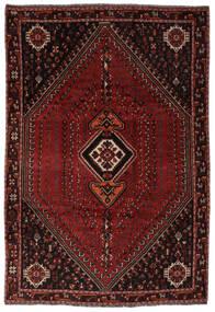 Shiraz Matta 206X298 Äkta Orientalisk Handknuten Svart (Ull, Persien/Iran)