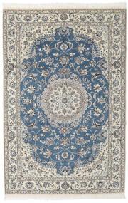Nain 9La Matta 148X230 Äkta Orientalisk Handknuten Svart/Mörkgrå (Ull/Silke, Persien/Iran)