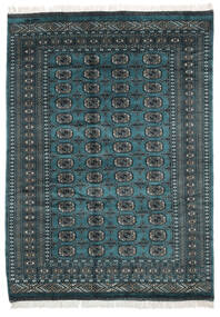 Pakistan Bokhara 2Ply Matta 157X218 Äkta Orientalisk Handknuten Svart (Ull, Pakistan)
