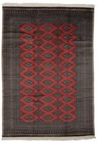 Pakistan Bokhara 3Ply Matta 184X261 Äkta Orientalisk Handknuten Svart/Mörkbrun (Ull, Pakistan)