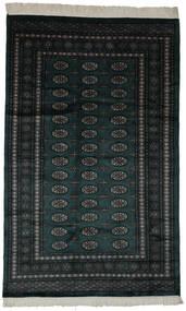 Pakistan Bokhara 3Ply Matta 154X250 Äkta Orientalisk Handknuten Svart (Ull, Pakistan)