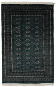 Pakistan Bokhara 3Ply Matta 160X241 Äkta Orientalisk Handknuten Svart (Ull, Pakistan)