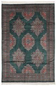 Pakistan Bokhara 2Ply Matta 151X226 Äkta Orientalisk Handknuten Svart (Ull, Pakistan)