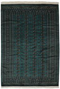 Pakistan Bokhara 2Ply Matta 190X270 Äkta Orientalisk Handknuten Svart (Ull, Pakistan)