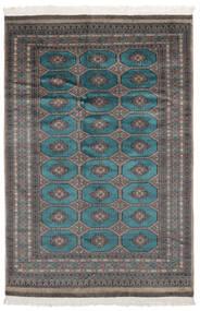 Pakistan Bokhara 2Ply Matta 157X231 Äkta Orientalisk Handknuten Svart (Ull, Pakistan)