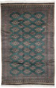 Pakistan Bokhara 3Ply Matta 156X235 Äkta Orientalisk Handknuten Svart/Mörkbrun (Ull, Pakistan)