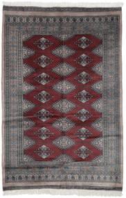 Pakistan Bokhara 3Ply Matta 119X180 Äkta Orientalisk Handknuten Svart/Mörkbrun (Ull, Pakistan)