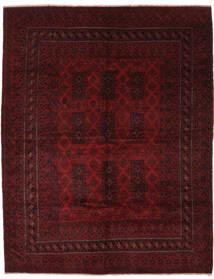 Beluch Matta 257X325 Äkta Orientalisk Handknuten Svart Stor (Ull, Afghanistan)