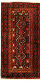 Beluch Matta 96X193 Äkta Orientalisk Handknuten (Ull, Persien/Iran)