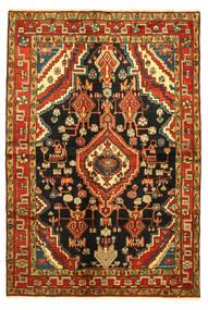 Hamadan Matta 138X203 Äkta Orientalisk Handknuten (Ull, Persien/Iran)