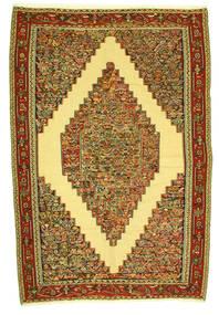 Kelim Senneh Matta 198X292 Äkta Orientalisk Handvävd (Ull, Persien/Iran)