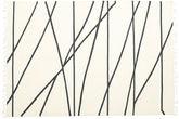 Cross Lines - Naturvit / Svart