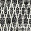 Kelim Long Stitch - Svart / Grå